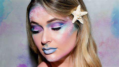 mermaid makeup tutorial halloween   prettiest