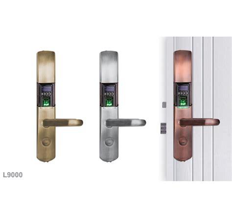fingerprint door lock with oled display granding