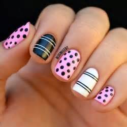 gallery for gt easy nail designs for short nails to do at home