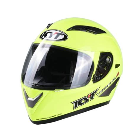 Kyt Romeo Solid Light Yellow M jual helm cek harga di pricearea