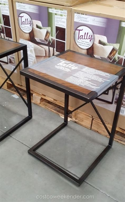 sofa tables costco universal furniture broadmoore tally occasional tables 2