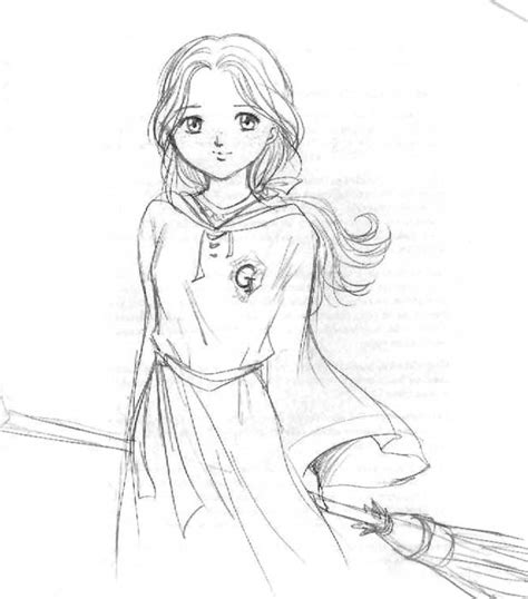 harry potter coloring pages ginny weasley ginny potter colouring pages
