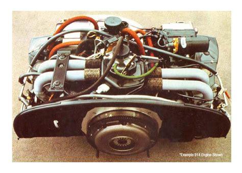 Porsche 914 Motor Porsche 914 1970 76 Engine Replacements Engine Parts