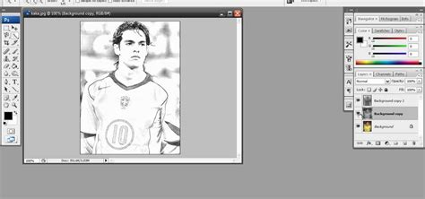 sketchbook or photoshop how to create a sketch effect in adobe photoshop
