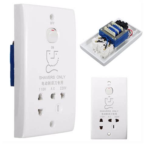 bathroom plug socket popular shaver socket buy cheap shaver socket lots from