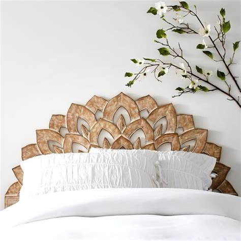 wood carved headboards wood carved faux headboard pbteen