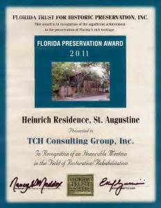 Tax Credit Award Letter 2013 Historic Preservation Tch Consulting Inc
