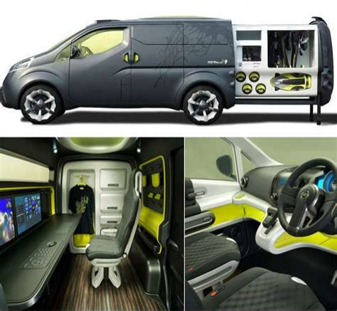 nissan nv200 office nissan s mobile office nv200 concept