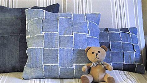 cuscini di stoffa idee per il riciclo della stoffa dei in borse e cuscini