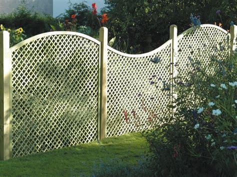 fencing panels with trellis top lattice fence functional decorative decorationy