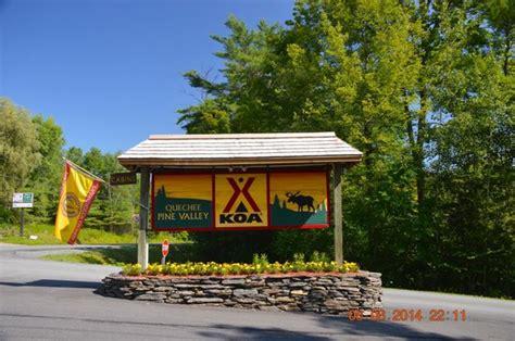quechee pine valley koa updated  reviews