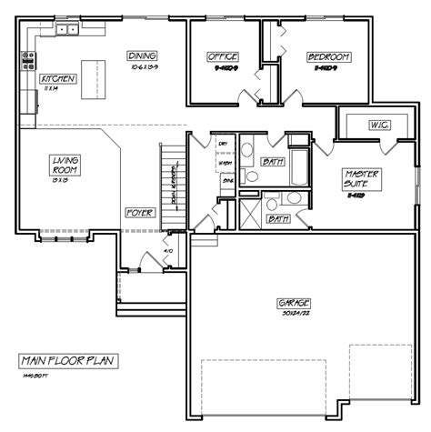 ranch rambler floor plans rambler floor plans with basement