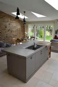 kitchen island worktops uk polished concrete worktop london arnold s kitchens