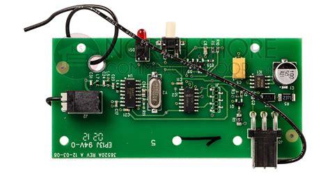 Genie Pro Stealth Garage Door Opener Troubleshooting by Genie 20437r S 34375r Intellicode Receiver Board
