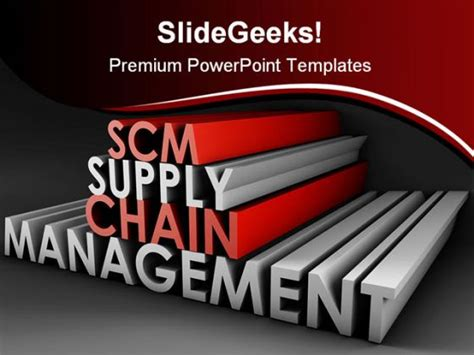 Supply Chain Management Business Powerpoint Template 1110 Supply Chain Powerpoint Template