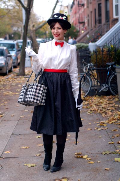 mary poppins costume i saw diy last minute halloween costumes for adults project