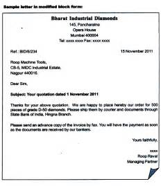 Business Letter Format Addresses How To Address A Business Letter The Best Letter Sle
