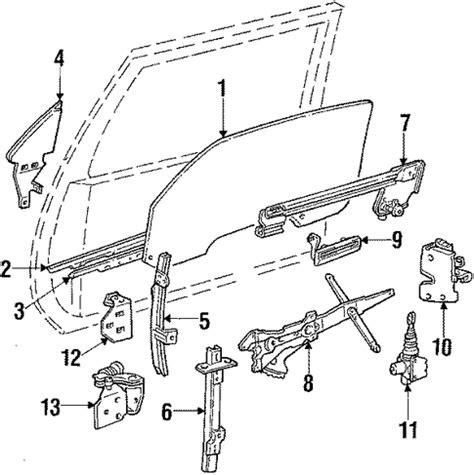 automotive repair manual 1986 pontiac gemini spare parts oem glass door for 1991 pontiac firebird gmpartscenter net