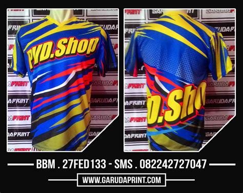 Kaos Racing Baju Balap konveksi seragam tk bikin kostum futsal