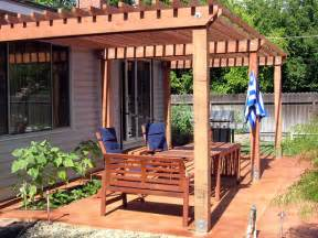 how to build a redwood shade structure how tos diy