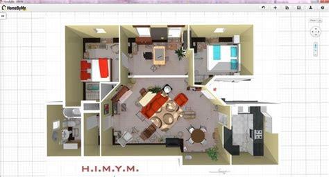 how i met your apartment les plans de l appartement de how i met your