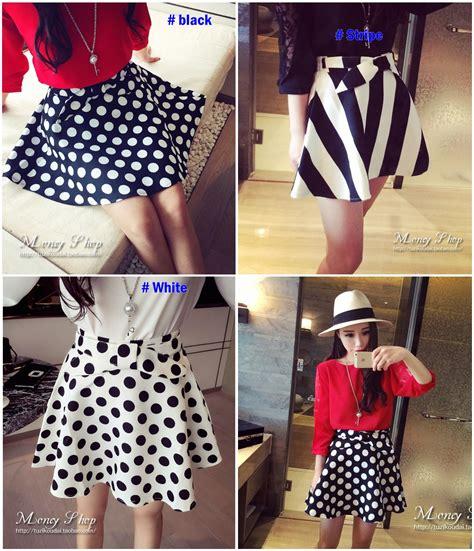 Rok Mini Skirt Motif Stipes Stripe Hitam Putih Import jual sc5zhn9 rok pendek rok hitam rok putih rok