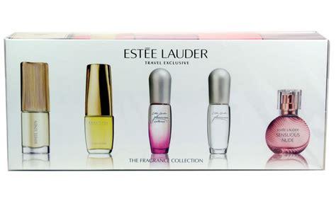 ester lauder perfumes est 233 e lauder perfume set 5 groupon goods