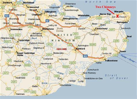 map uk kent 688 x