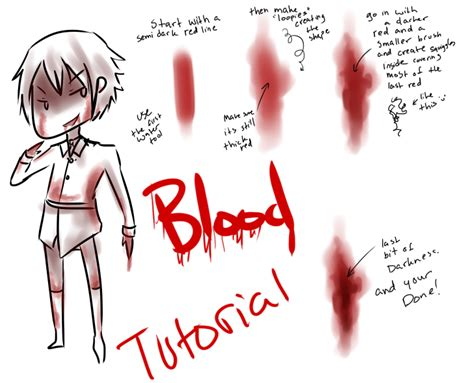 paint tool sai blood tutorial blood and wound tutorial by brixyfire on deviantart