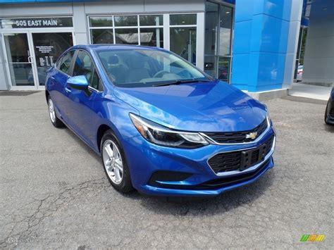 chevrolet cruze blue 2016 kinetic blue metallic chevrolet cruze lt sedan