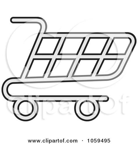 royalty free vector clip art illustration of a shopping