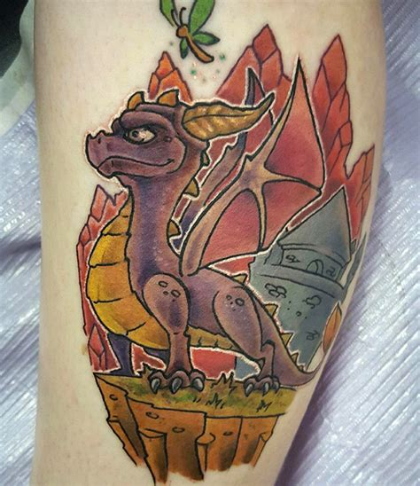 spyro tattoo 20 spyro the tattoos