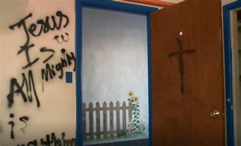 police kentucky hindu temple vandalized  hate crime