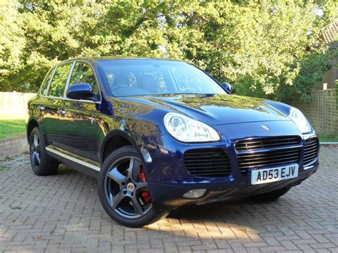 porsche dealers kent porsche cayenne turbo tiptronic s kent and surrey used