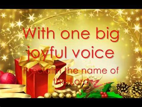 christmas songs jose mari chan lyrics in our hearts jose mari chan lyrics