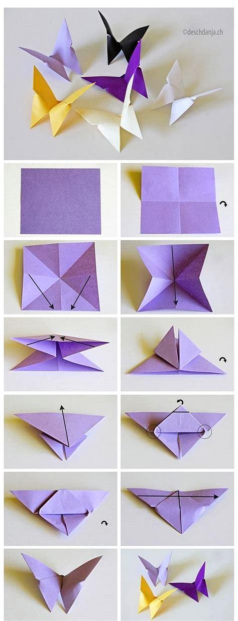 cara membuat origami untuk hiasan dinding cara membuat hiasan dinding kamar dari kertas origami