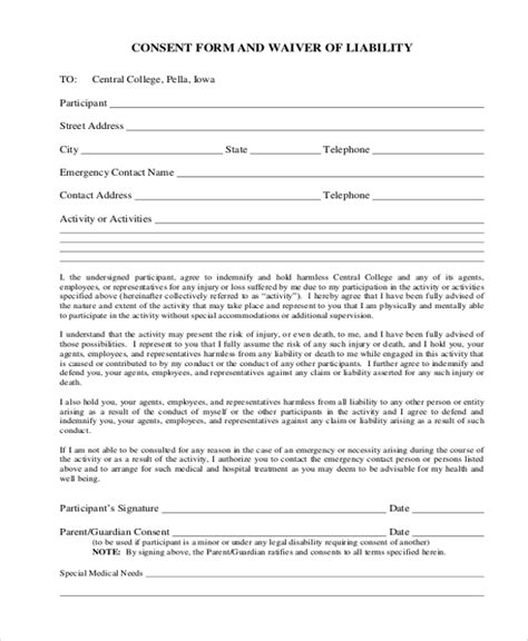 activity consent form template read book activity consent form template pdf read book