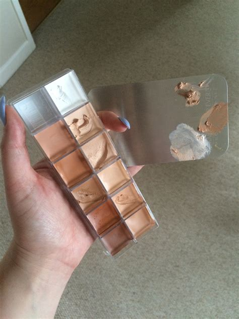Forever In 11 the make up for 11 colour foundation palette