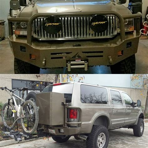 ford road bumpers 14 best images about ford excursion aluminum road