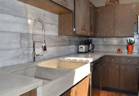 Concrete Backsplash Ideas for Kitchens   HomesFeed