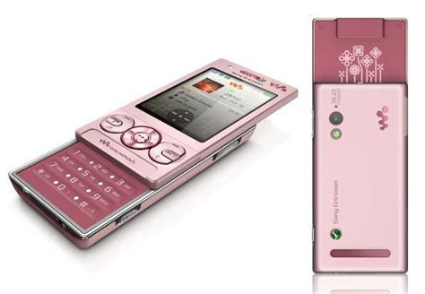 the journey of my i want this hp sony ericsson w705 pink