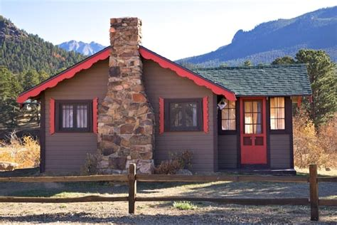Tiny Town Cabins Hotels Yelp Estes Park Cottages