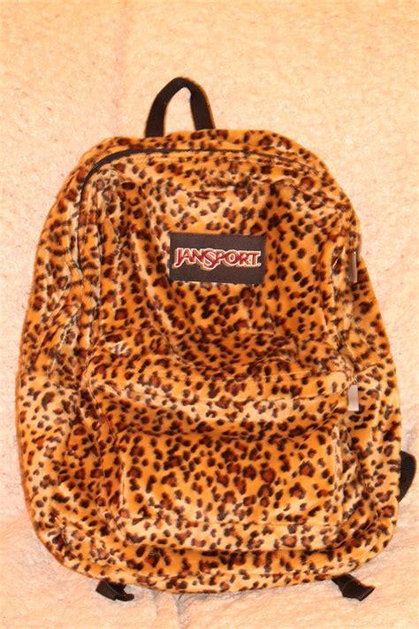 Print Backpack jansport backpacks cheetah print www imgkid the