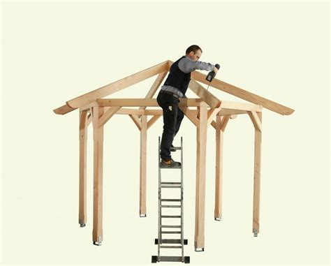 holzpavillon 3x3m best 25 pavillon selber bauen ideas on selber