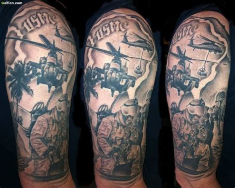 infantry tattoo army sleeve tattoos www pixshark images