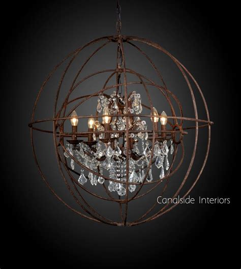 Foucault Single Orb Chandelier Canalside Interiors 1424 Best Images About Chandeliers On Modern Chandelier The Chandelier And Italian
