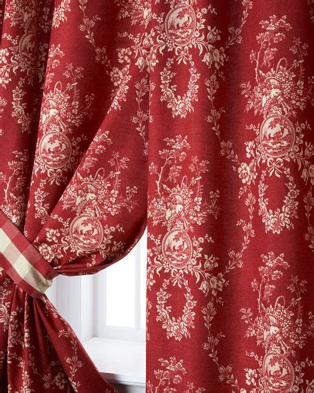 french country draperies sherry kline home two french country curtains 52 quot w x 96 quot l