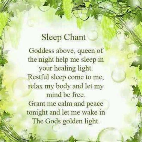 wiccan prayer sleep chant pagan wiccan pagan everything