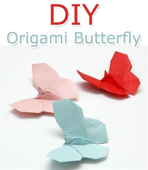 Origami Butterfly Tutorial - how to make an origami butterfly tutorial origami