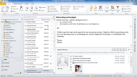 microsoft outlook 2010 tutorial donttouchthespikes com outlook 2010 essential training